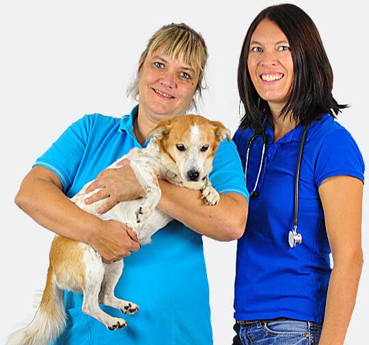 Tierärztinnen Sylvia Spath und Andrea Fischer